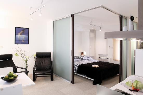 Creating A Bedroom In A Studio Apartment With Doors Barn